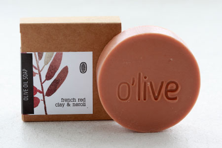 French Red Clay and Neroli Soap